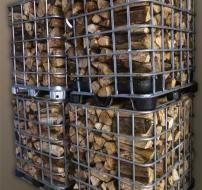 Box bois de chauffage 33cm