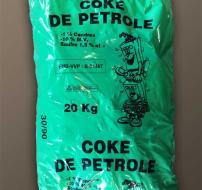 Coke de Pétrole 30/90(20Kg)/Palette